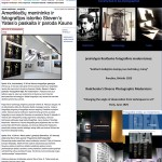 """ArtNews Lithuania: American artist and photography historian Steven Yates lecture and exhibition in Kaunas. Three-lecture series """"Intersections: Proto Modern Histories into the New Century"""" presented at the Vytautas Magnus University"""