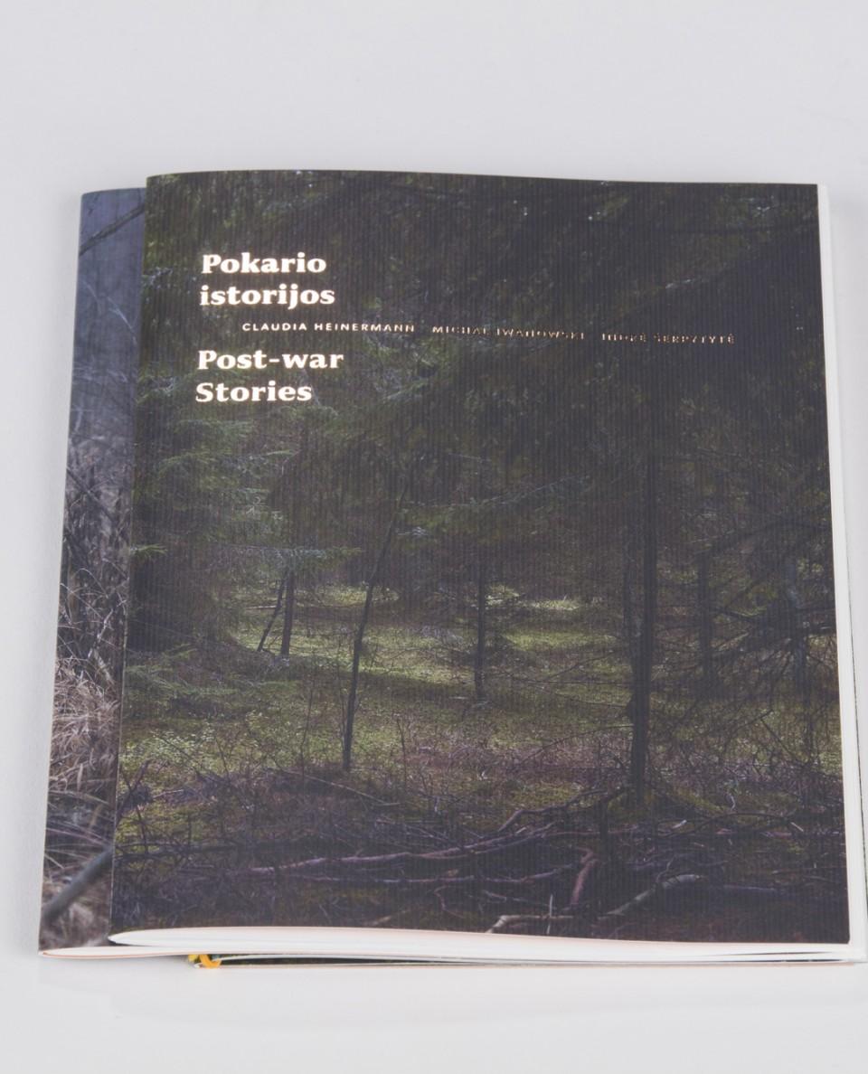 """Claudia Heinermann, Michail Iwanowski, Indrė Šerpetytė """"Post-war stories"""""""