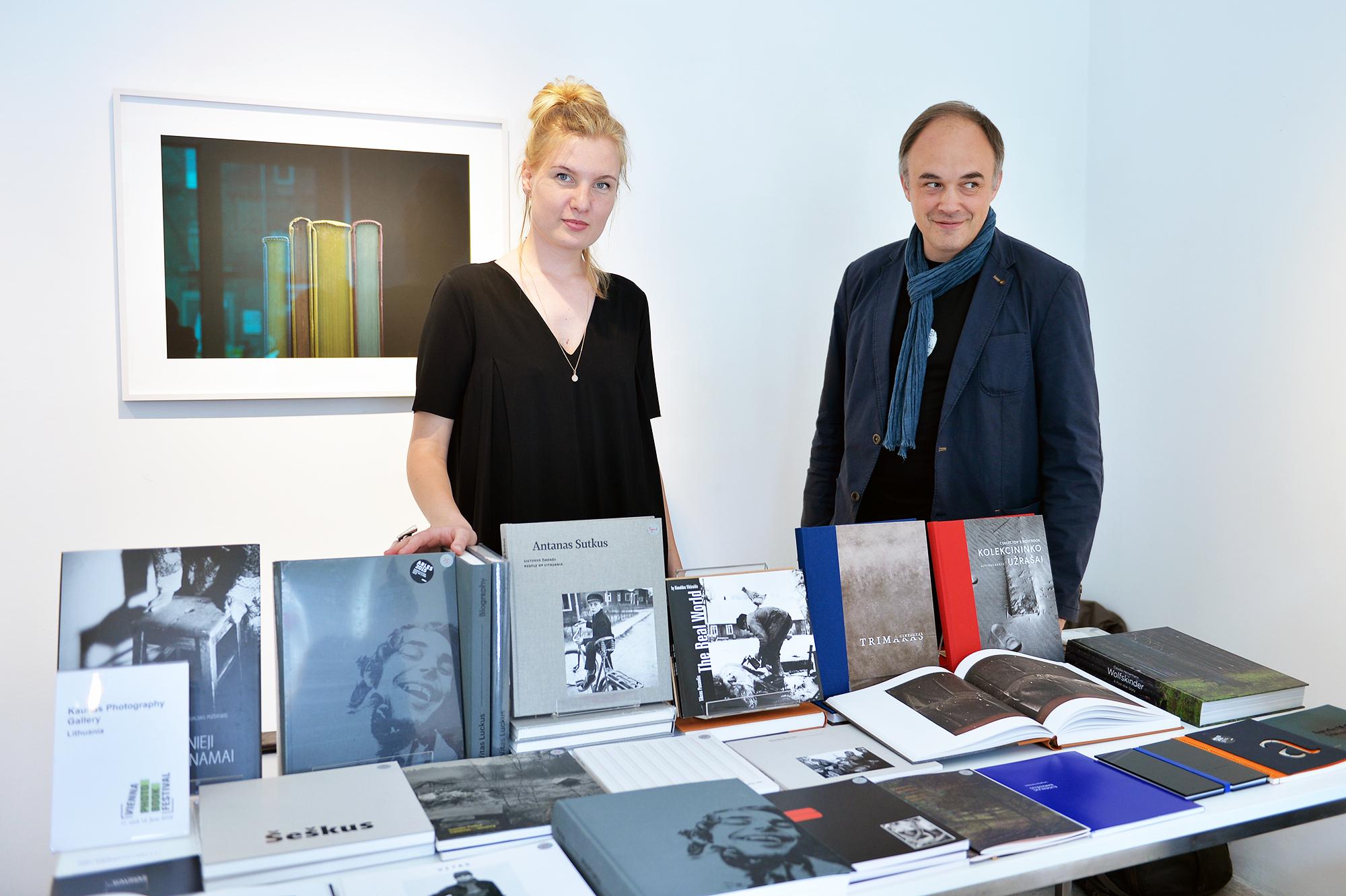 Viktorija Mašanauskaitė Ir Gintaras Česonis_ViennaPhotoBookFestival 2016 © Galerie OstLicht