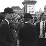 Forward Again with the Tories 1960's political slogan Conservative Party Britain