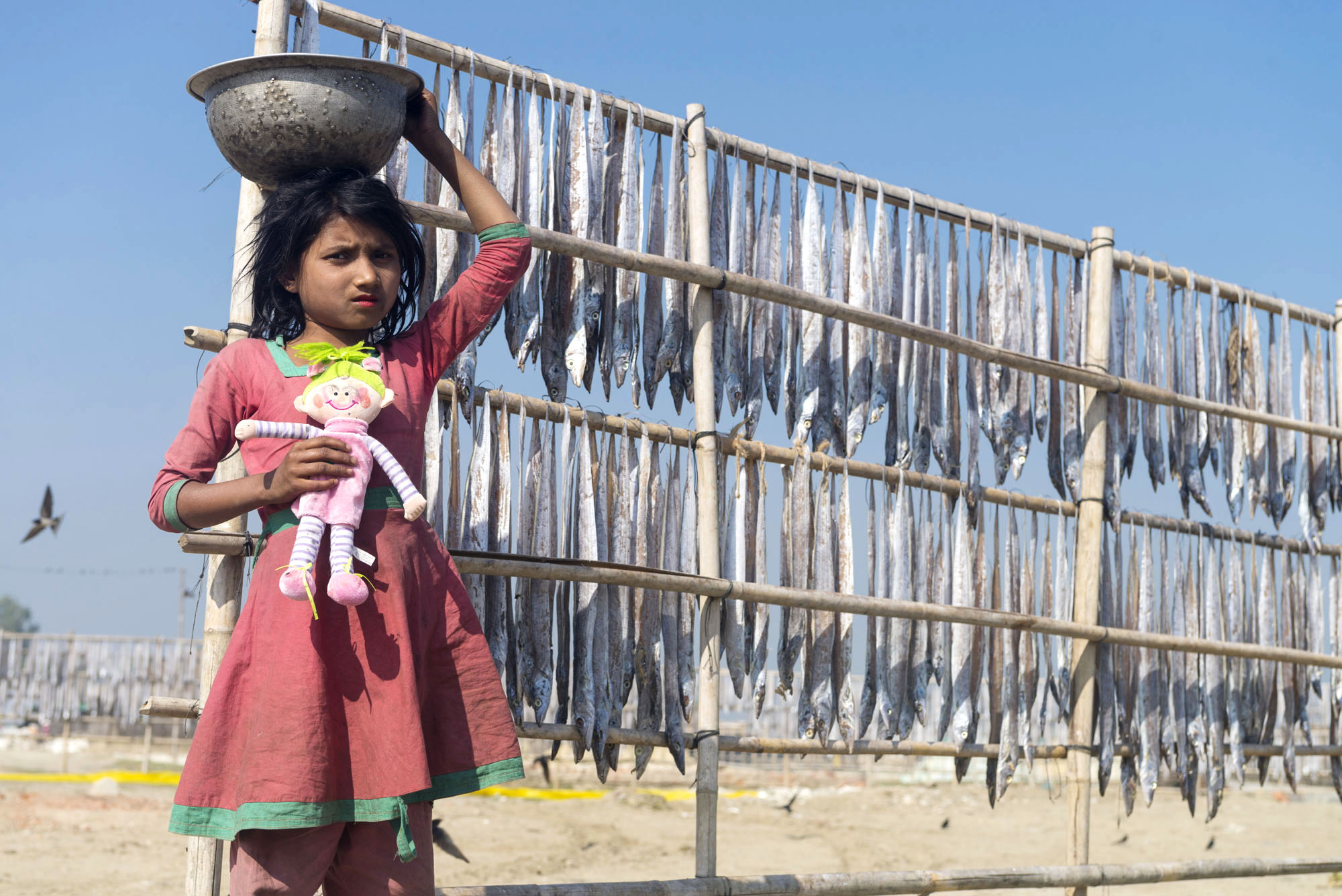 Bangladešo vaikaii. Požerskis (3)